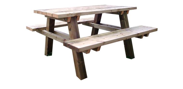table de pique nique utopie cote d 39 azur. Black Bedroom Furniture Sets. Home Design Ideas